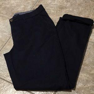 Tommy Hilfiger navy khakis